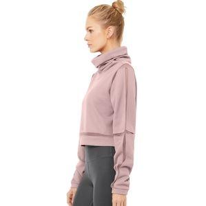 ALO Yoga Sweaters - ALO Yoga Dusted Plum Sweatshirt